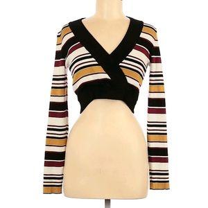 🦕3/$10 F21 Retro Cropped Sweater